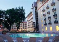 отель Lotte City HotelTashkent Palace: Внутрення территория отеля