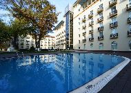 отель Lotte City HotelTashkent Palace: Дворик отеля