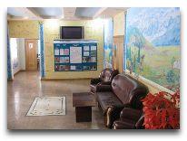 санаторий Лесная сказка: Холл отеля