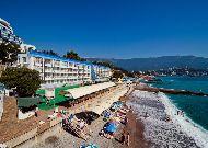отель Левант: Пляж