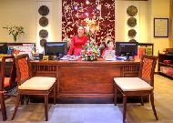 отель Little Hoian Boutique Hotel & Spa: Reception