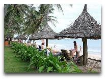 отель Little Mui Ne Resort: Пляж