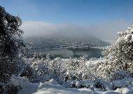 отель Lopota Resort: Озеро зимой