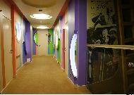 отель Арт-отель Люмьер: Коридор на 4 этаже
