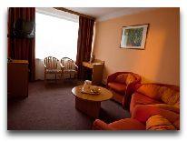 отель Лыбидь: Гостиная номера люкс