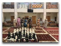 отель Malika Khiva: Холл отеля