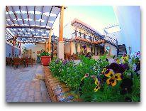 отель Malika Bukhara: Внутренний дворик