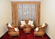 отель Malika Diyora: Уголок в холле на этаже