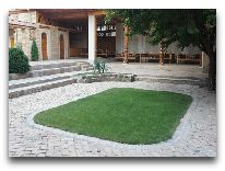 отель Malika Samarkand: Внутренний дворик