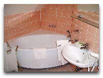 отель Vila Rosa: lll этаж, oднакомнатый люкс (ванна)