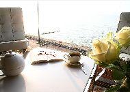отель Marine Hotel: утренний чай