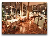 отель Bellevue Park Hotel Riga: Ресторан Bellevue