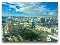 отель JW Marriott Absheron Baku: Вид из бассейна