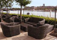 отель Hotel Marriott Copenhagen: Летняя терраса