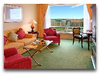отель Hotel Marriott Copenhagen: Гостиная Junior Suite
