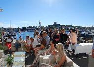 отель Marstrands Havshotell: Летняя терраса