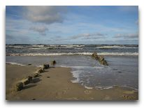 отель Meduza: Пляж