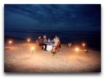 отель Meduza: Пляж ночью