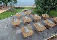 отель Medzabaki: Летняя терраса ресторана