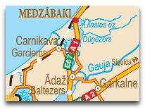 отель Medzabaki: Карта
