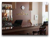 отель Memel: Вход в зал для завтраков