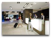 отель Mercure Gdansk Hevelius: Ресепшен отеля