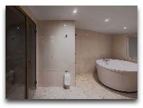 отель Meresuu Spa & Hotel: Ванная номера Suite