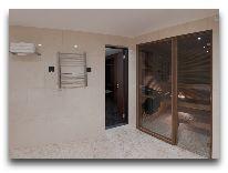 отель Meresuu Spa & Hotel: Сауна в номере Suite