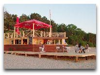 отель Meresuu Spa & Hotel: Пляжное кафе Meresuu