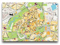 отель Meriton Old Town: Карта нахождения отеля
