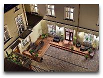 отель Metropolitan: Атриум отеля