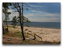 отель Minhauzena Unda: Пляж