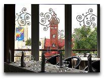 отель Минск: Вид из окна ресторана