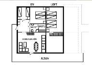 отель Коттеджи в середине трассы: Тип 9 план коттеджа