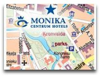 отель Monika Centrum Hotel: Карта