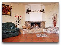 отель Morena: Каминный зал