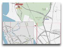 отель Morena: Отель на карте