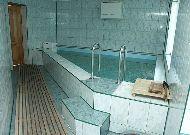 отель Морское: Бассейн в сауне