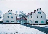 отель Морское: Отель зимой