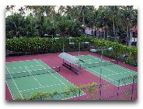 отель Muine De Century Beach Resort: Теннисные корты