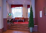 отель Narva: Холл отеля