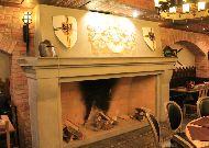 отель Nesselbeck: Большой камин в ресторане