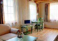 отель Hotel Nidos Pusynas (Nida): Гостиная номера Villa Gimtine