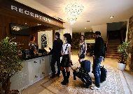 отель Rabath Akhaltsikhe: Ресепшен отеля