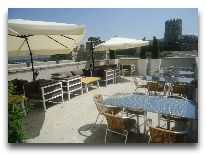 отель Rabath Akhaltsikhe: Терраса ресторана