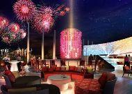 отель Novotel Danang Premier Han River: Бар ночью