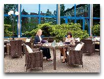 отель Novotel Gdansk Centrum: Летняя терраса