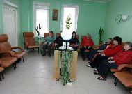 санаторий Нуфэрул Алб: Холл в поликлинике