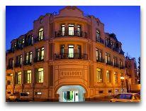 отель O Galogre: Отель вечером