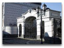 отель O Galogre: Вход в отель